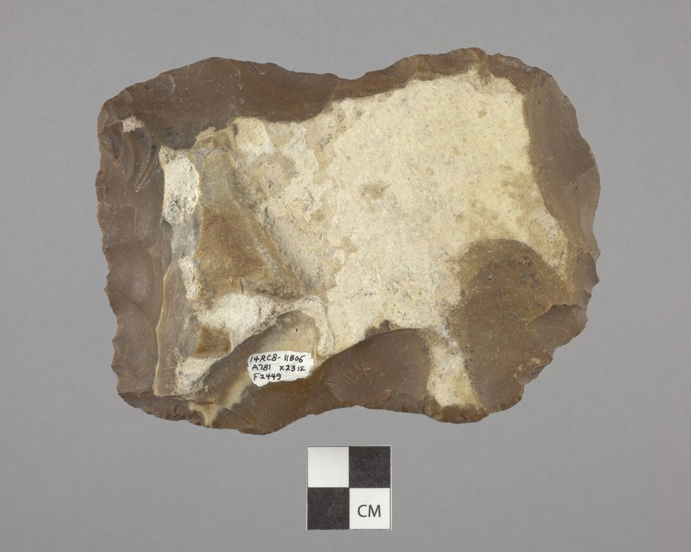 Biface from the Tobias Site, 14RC8 - 2
