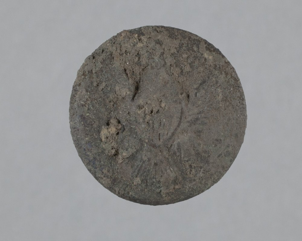 General Service Button from Fort Zarah, 14BT301 - 1
