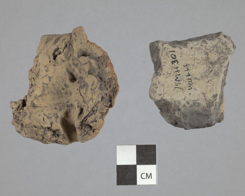 Ceramic Vessel Sherds from the Wullscheleger Site, 14MH301 - 2