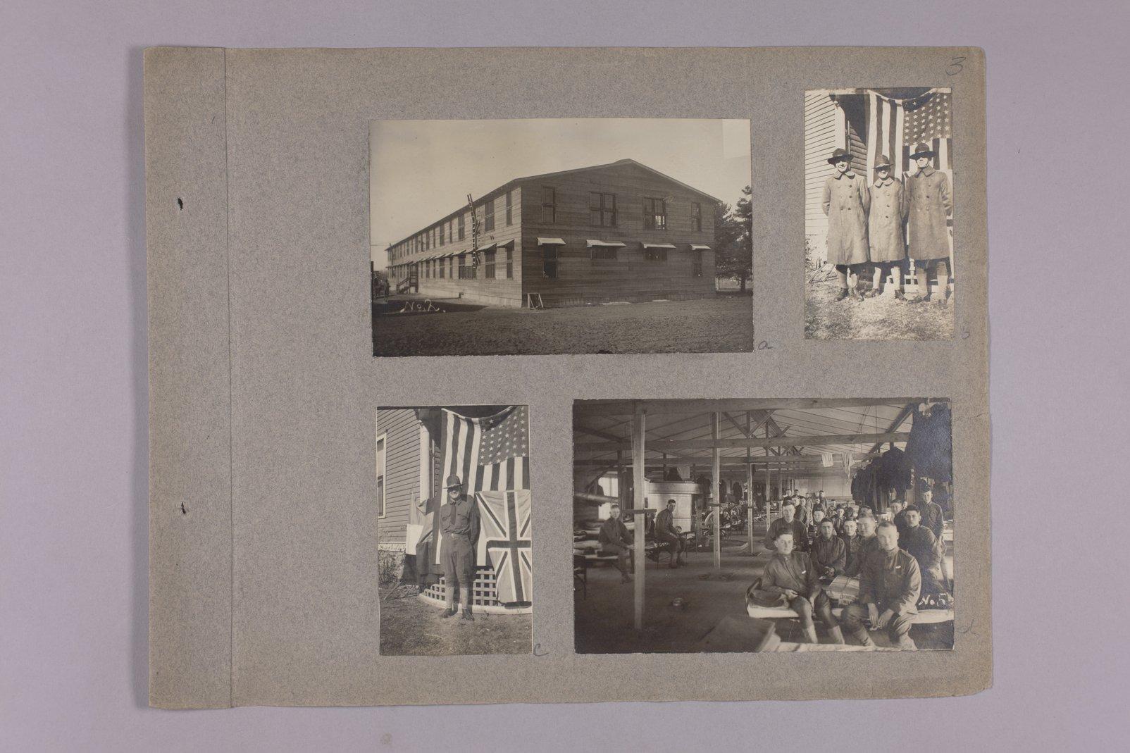 Martha Farnsworth scrapbook #4 - Photographs: WW I. scenes