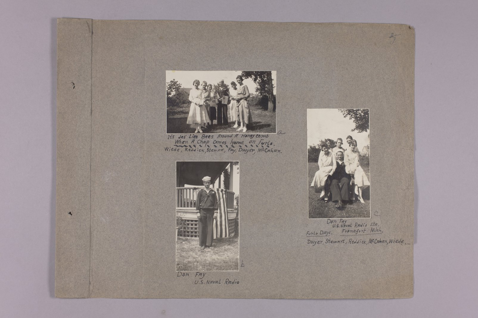 Martha Farnsworth scrapbook #4 - Photographs: Don Fay