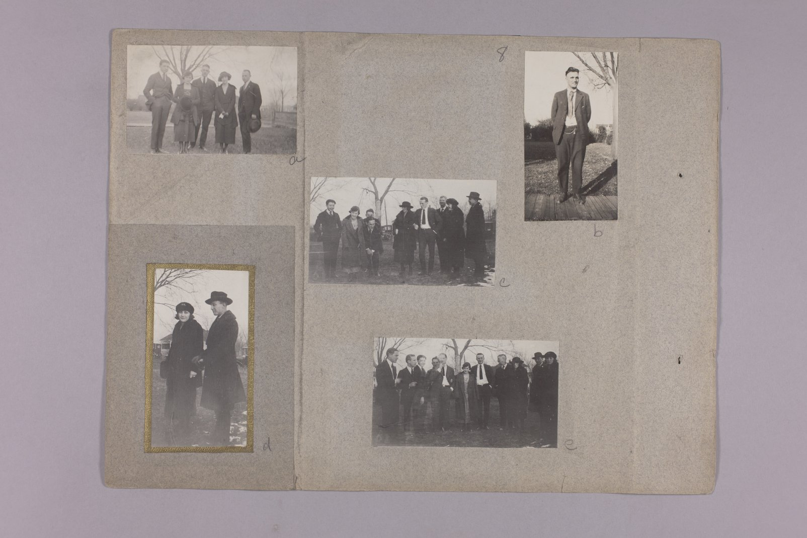 Martha Farnsworth scrapbook #4 - Photograph: Fred Farnsworth