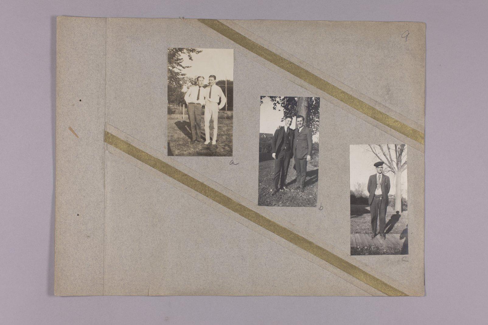 Martha Farnsworth scrapbook #4 - Photographs: Unidentified