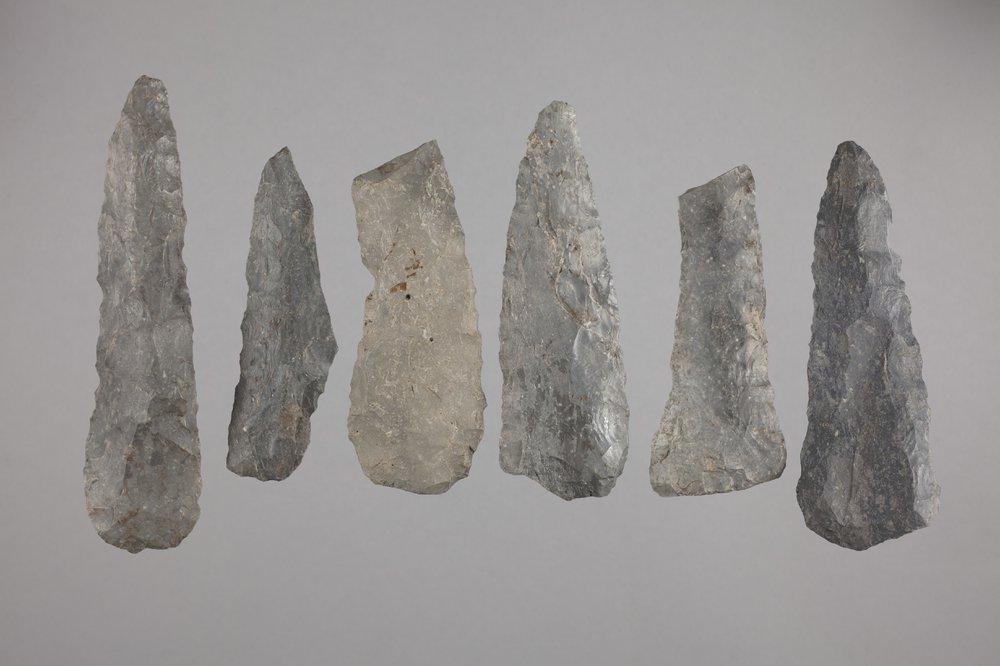 Munkers Creek Knives from the Elliott Site, 14GE303 - 1