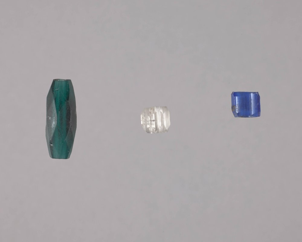 Beads from the 102 Steel Point Site, 14MO414 - 1