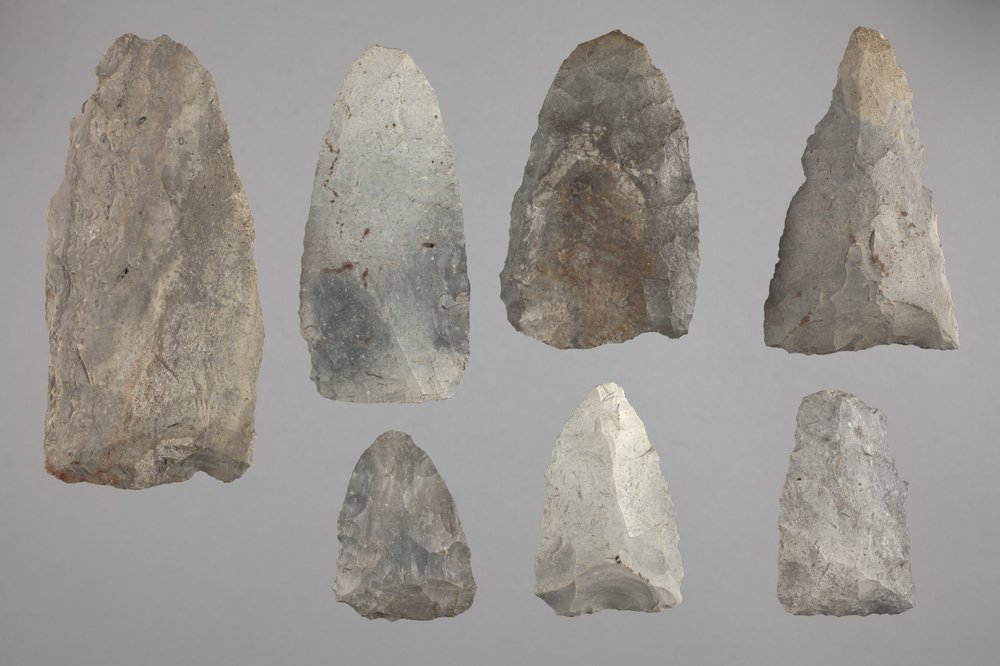 Munkers Creek Axes from the Elliot Site, 14GE303 - 1