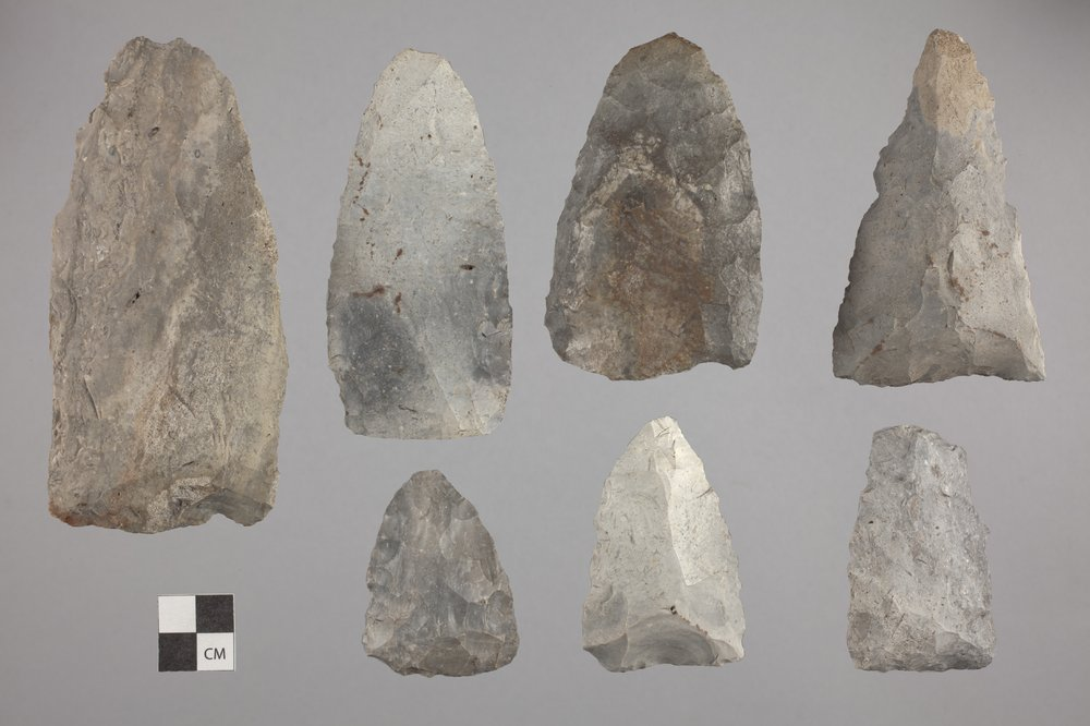 Munkers Creek Axes from the Elliot Site, 14GE303 - 2