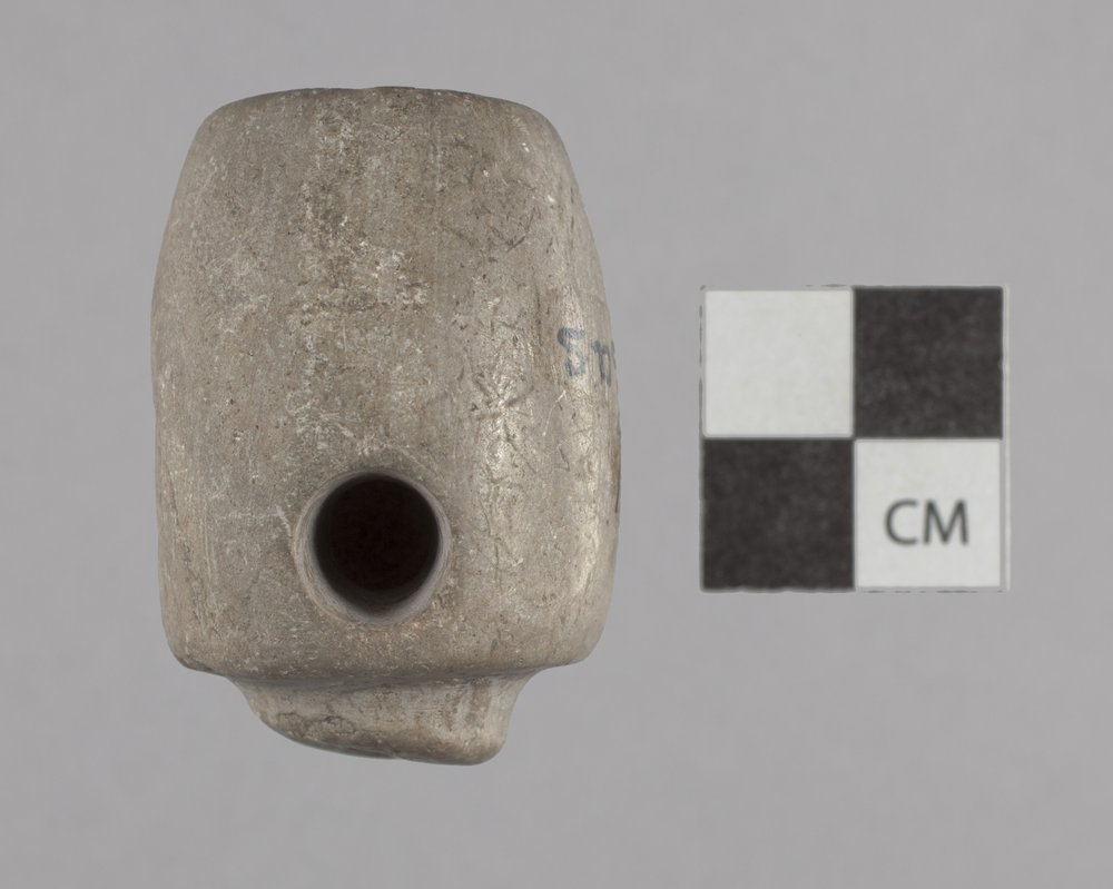Carved Pipe Bowl from the Kansas River Valley - 2