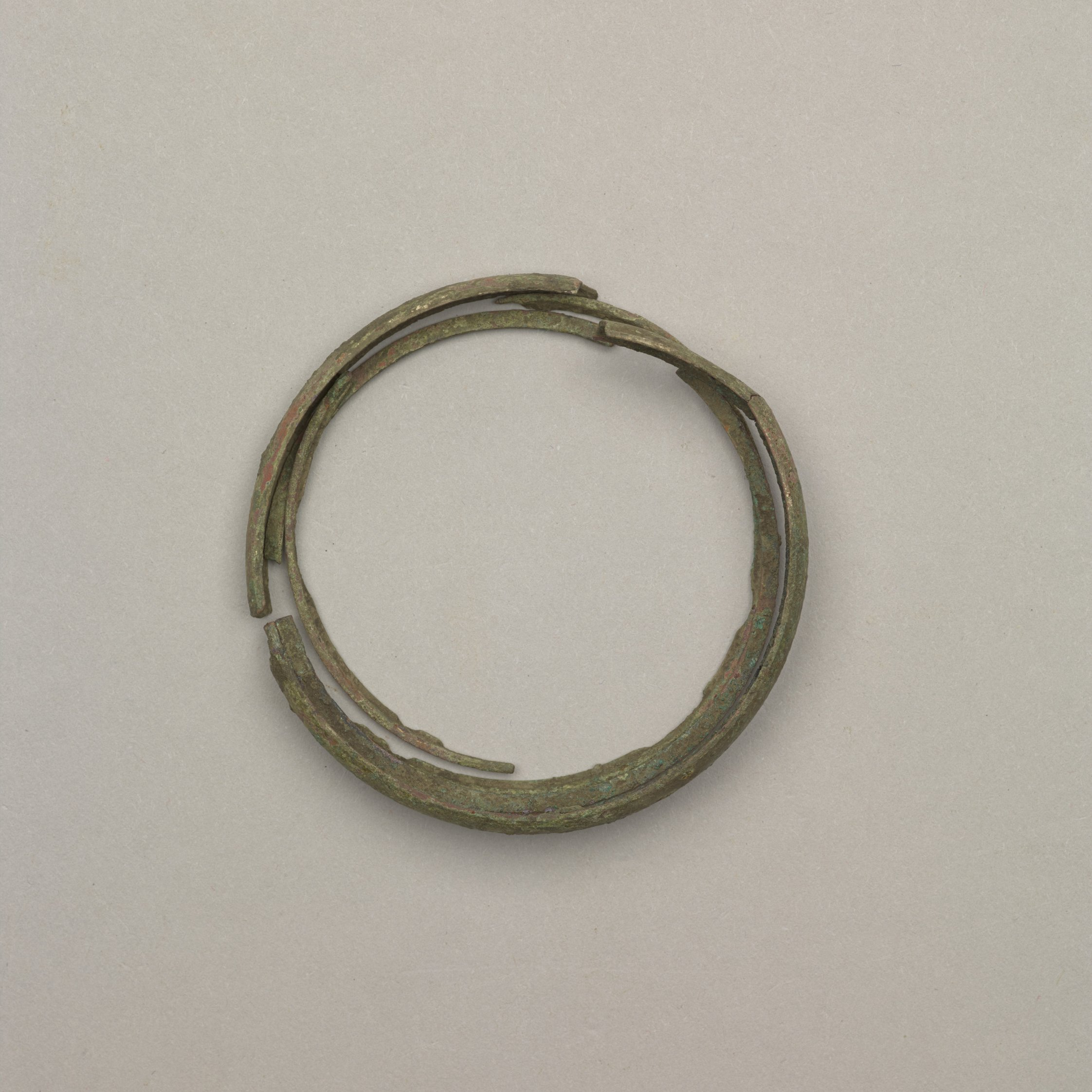 Brass Bracelet from the Mahaffie Farmstead and Stagecoach Stop, 14JO356 - 1