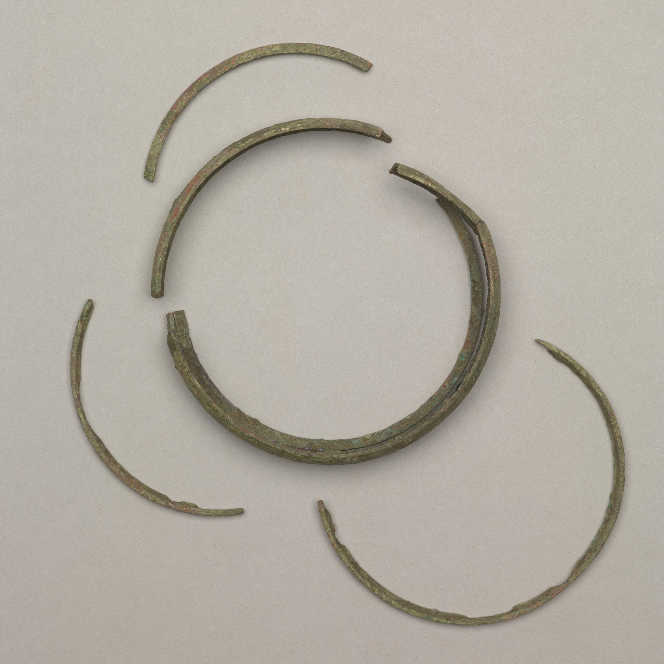 Brass Bracelet from the Mahaffie Farmstead and Stagecoach Stop, 14JO356 - 2