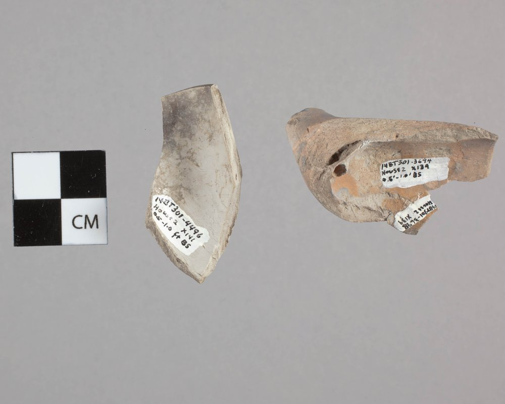 Clay Pipes from Fort Zarah, 14BT301 - 2