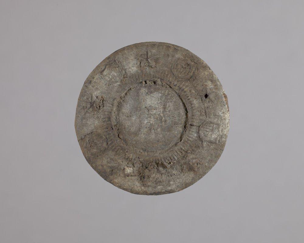 Harness Rosette from Fort Zarah, 14BT301 - 1