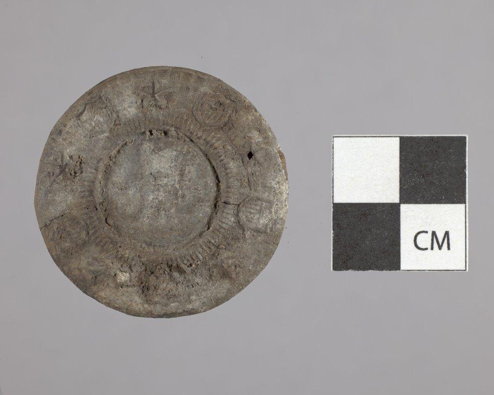 Harness Rosette from Fort Zarah, 14BT301 - 2