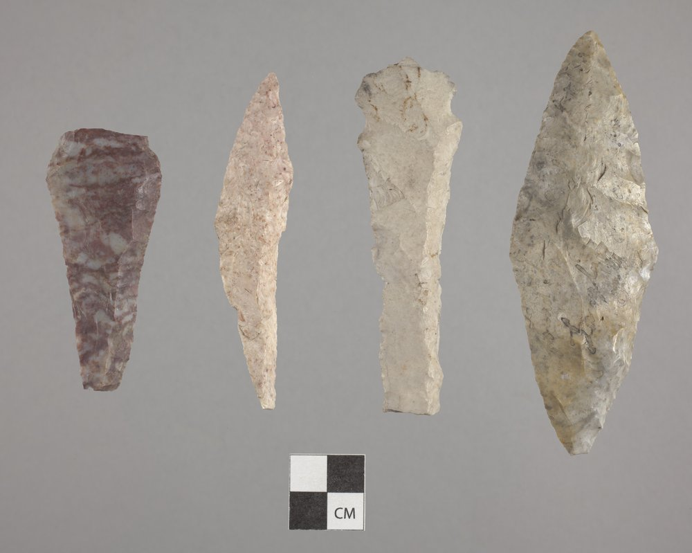 Alternately Beveled Knives from Anderson County - 2
