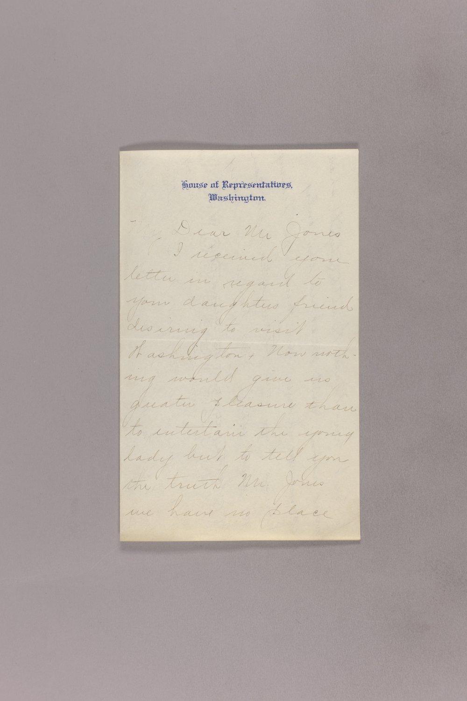Dollie Gann Curtis correspondence - 1