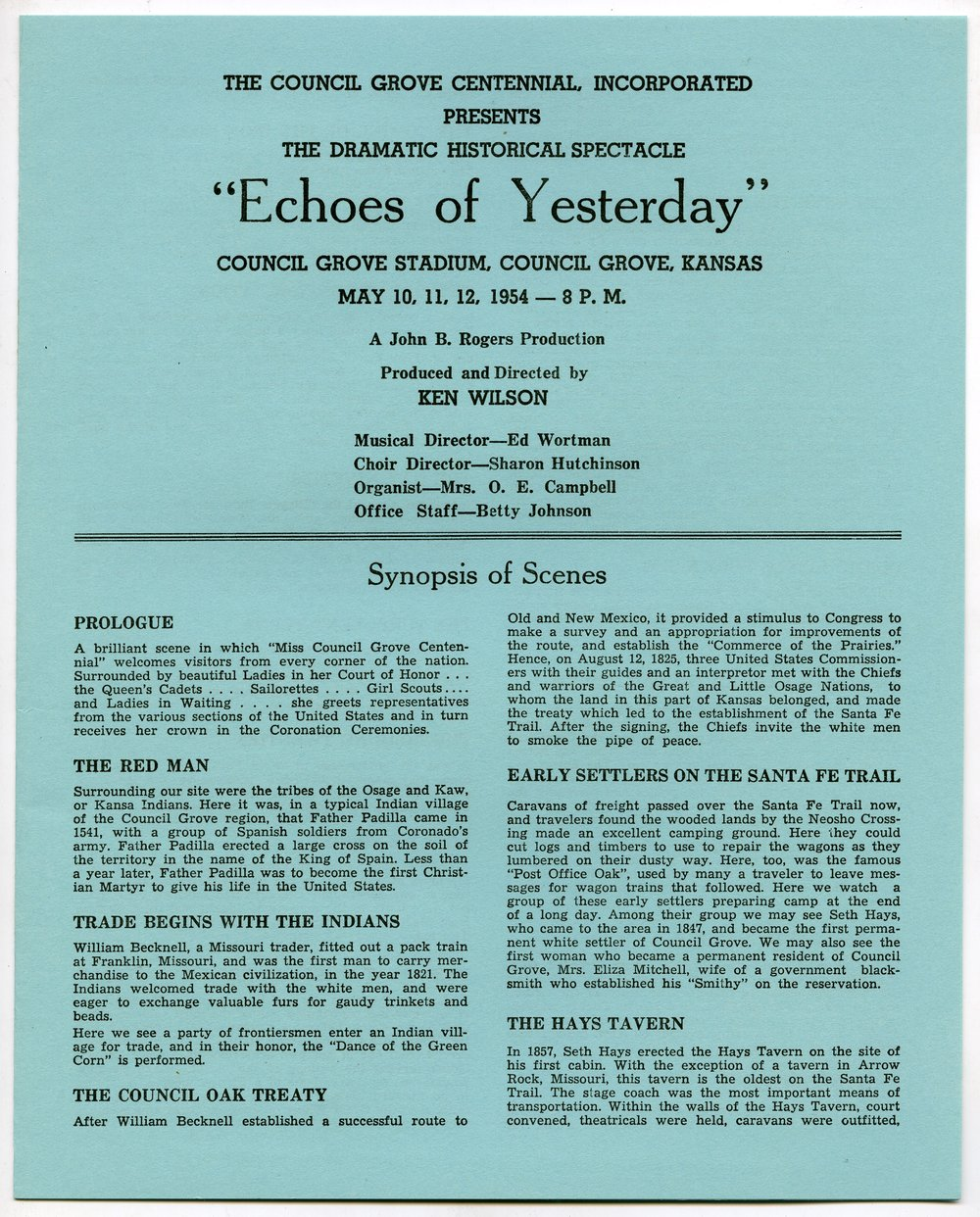 Echoes of Yesterday - 1