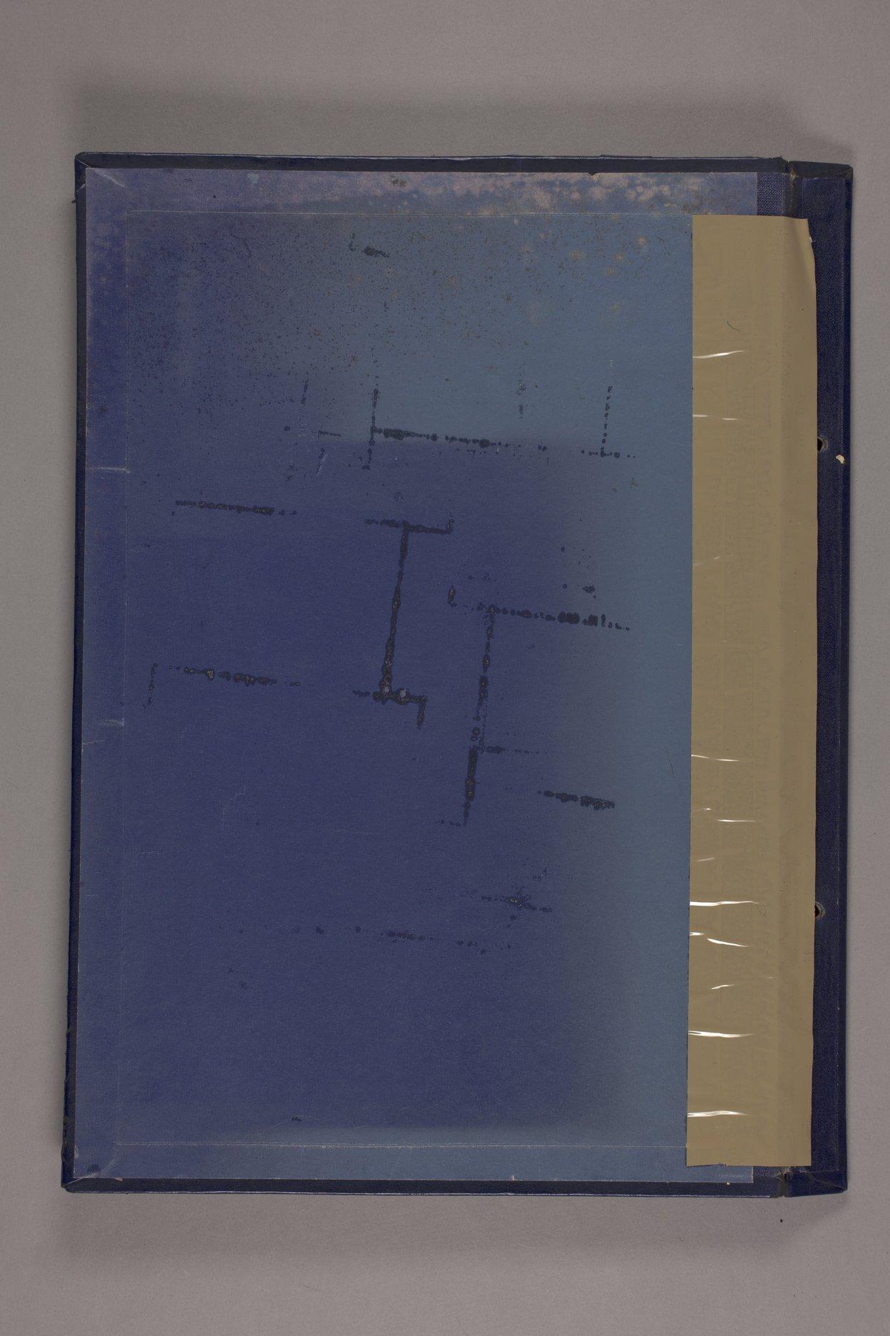 Bertha Jones scrapbook - 2 Inside cover