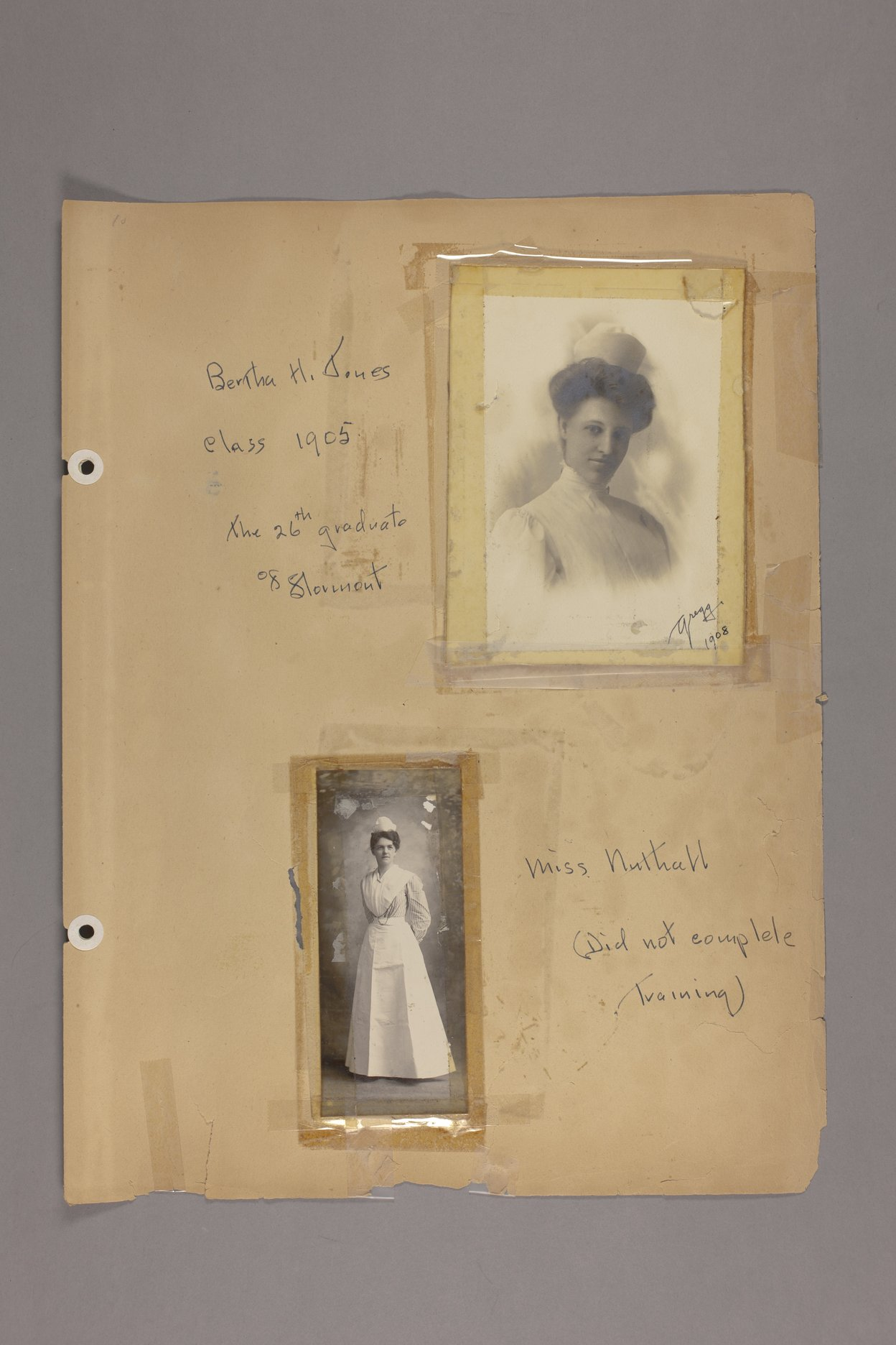 Bertha Jones scrapbook - 10 Photographs: Jones, Nulthall