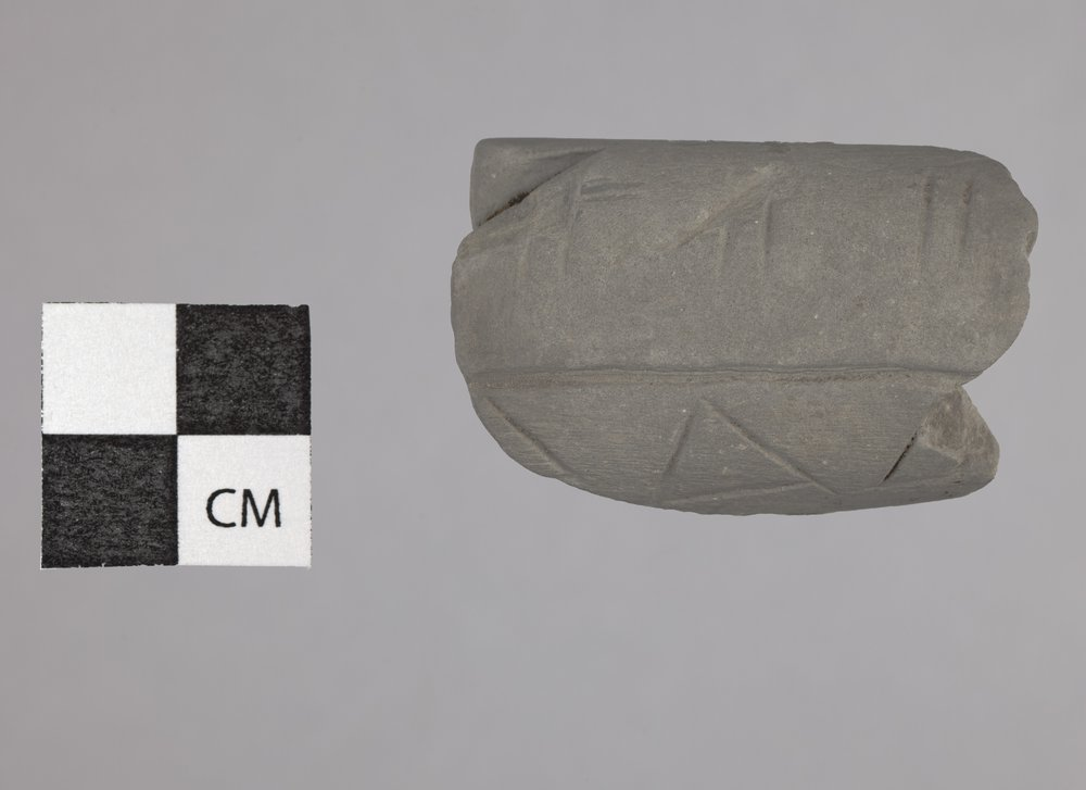 Limestone Pipe Bowl from the Radio Lane Site, 14CO385 - 3