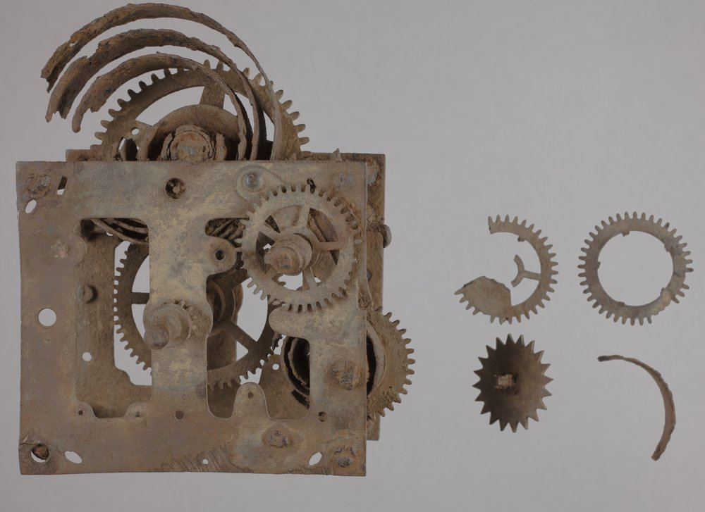 A Clock's Spring Mechanism from 14CT380 - 1