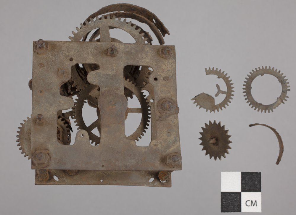 A Clock's Spring Mechanism from 14CT380 - 2