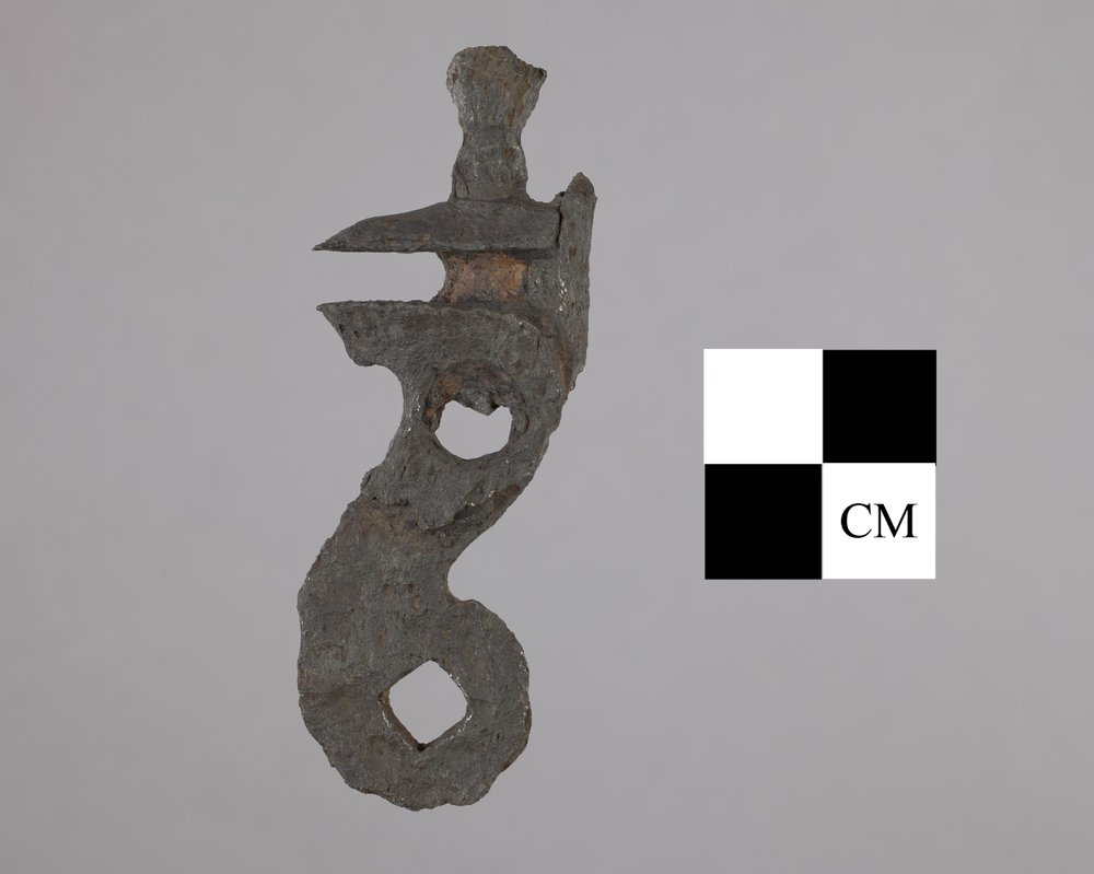 Flintlock Hammer from the Canville Trading Post, 14NO396 - 2