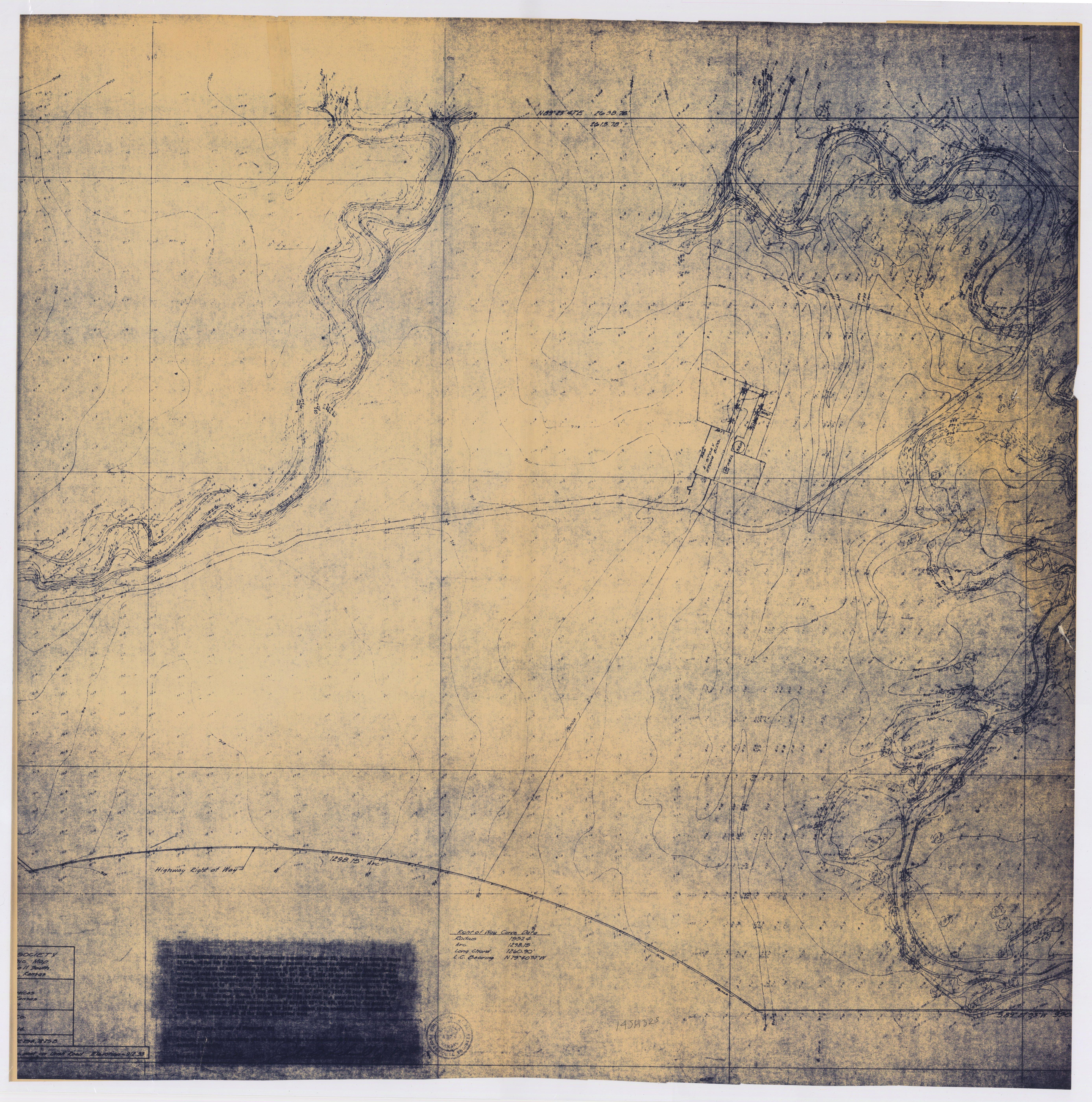 Oversized Maps of the Pottawatomi Mission, 14SH325 - 1