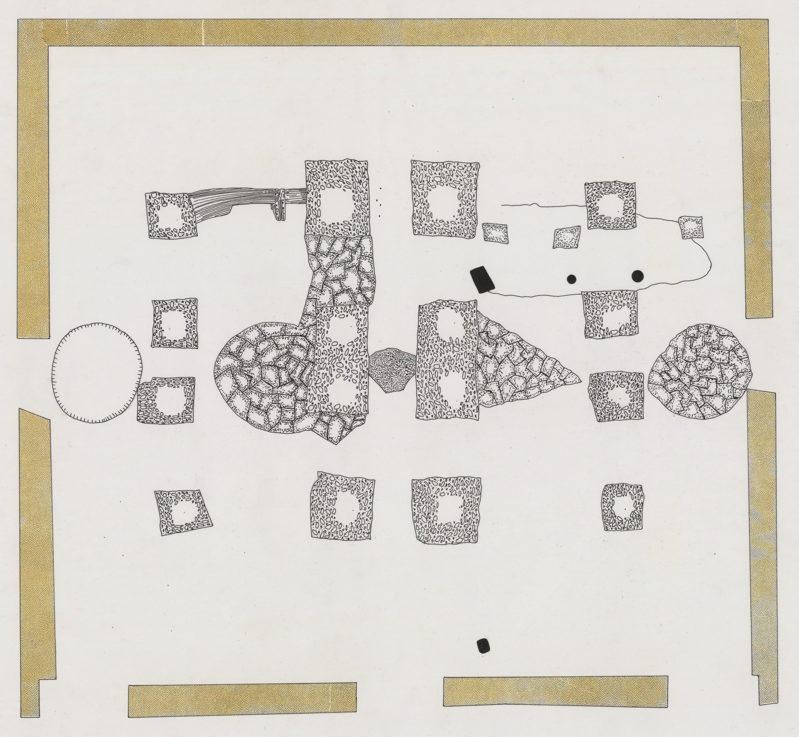 Oversized Maps of the Pottawatomi Mission, 14SH325 - 3