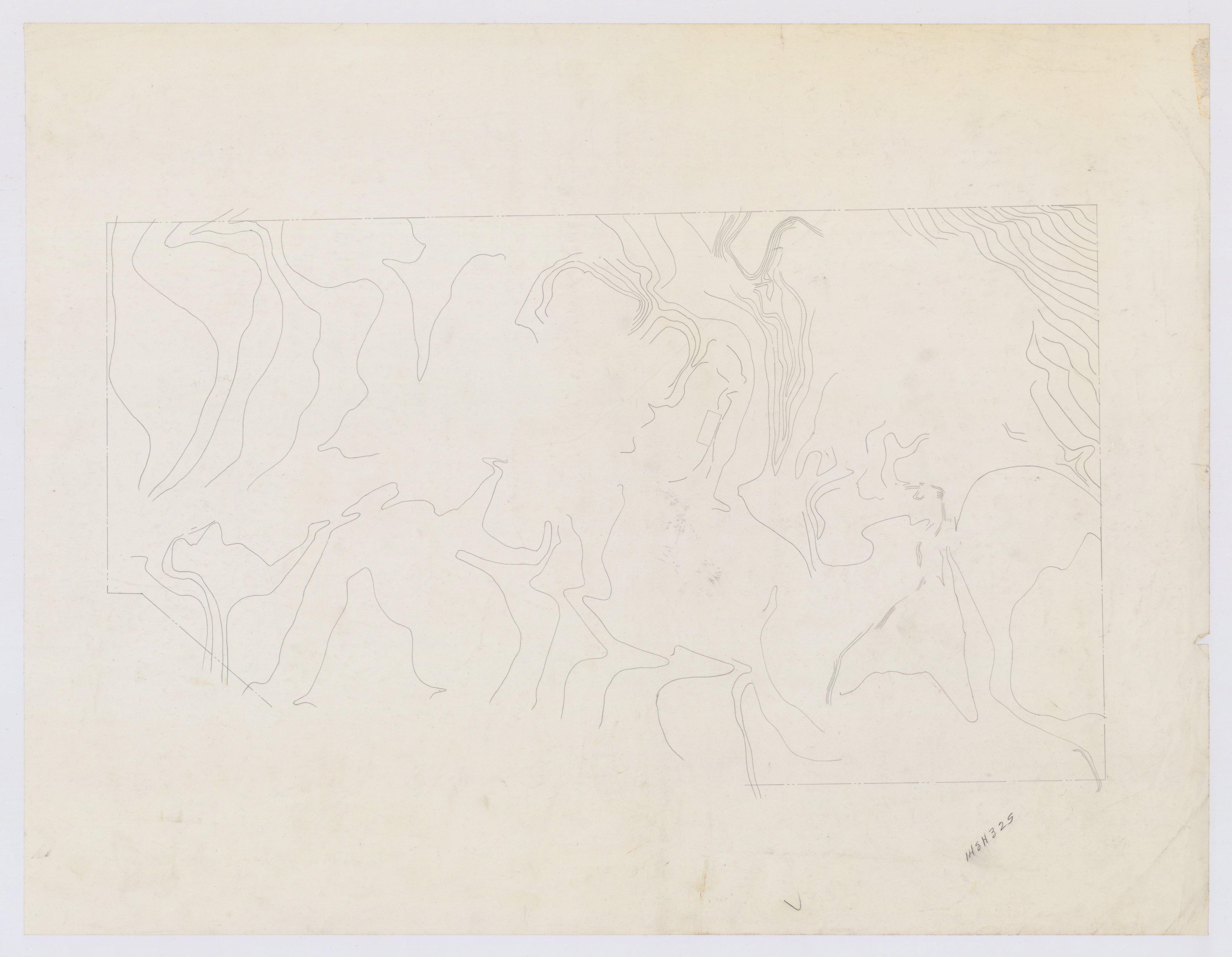Oversized Maps of the Pottawatomi Mission, 14SH325 - 9