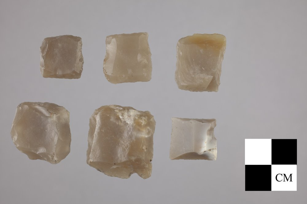 French Gunflints from the 102 Steel Point Site, 14MO414 - 2