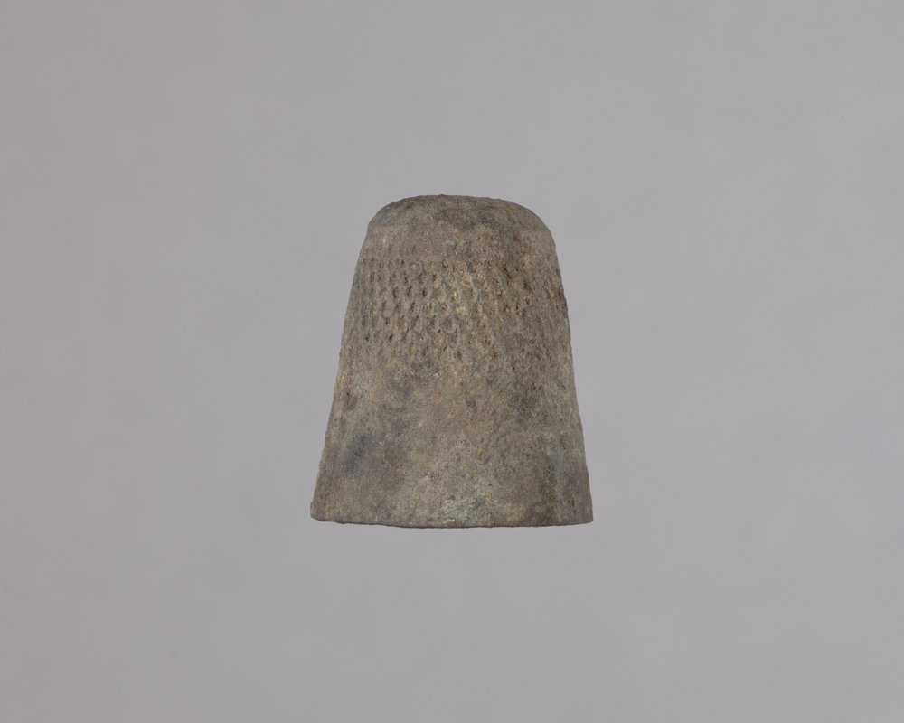 Thimble from the Baker House, 14MO414 - 1
