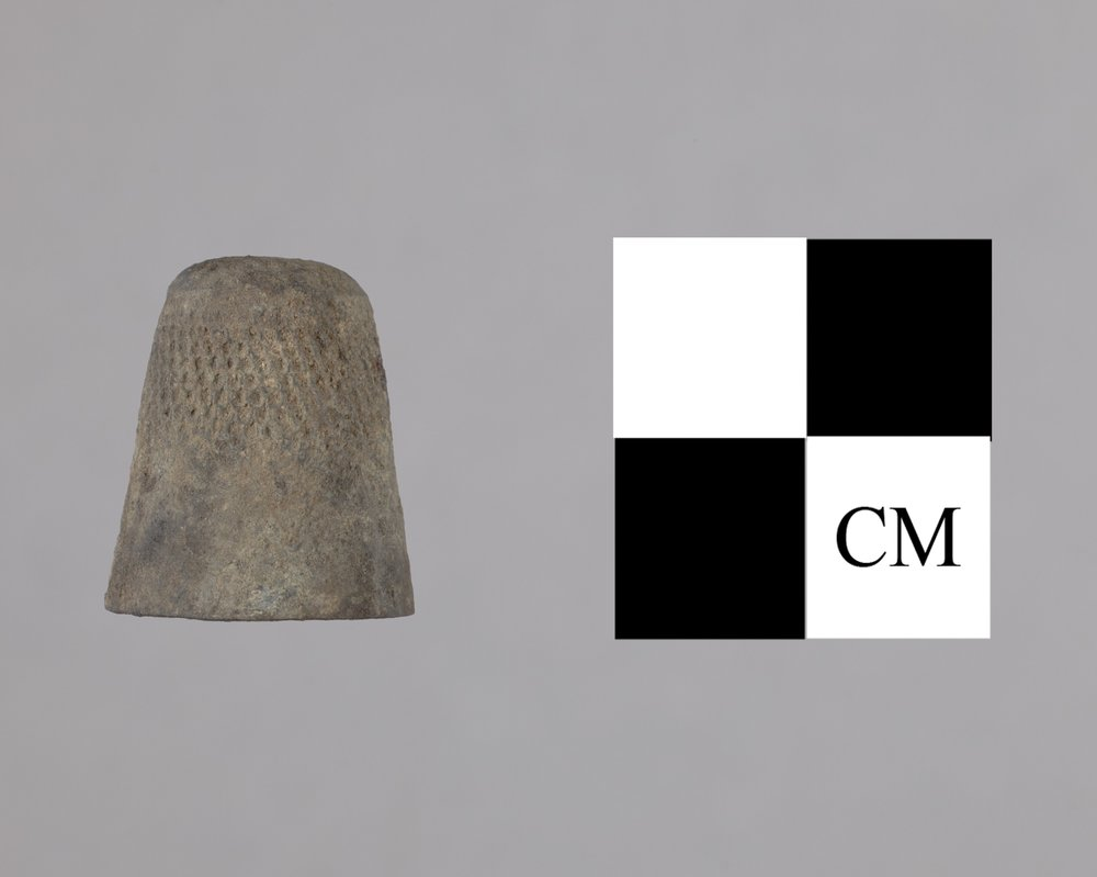 Thimble from the Baker House, 14MO414 - 2