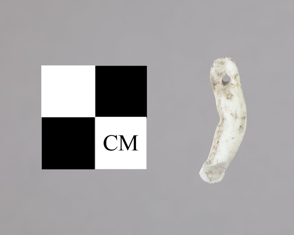 Bisque Doll Arm from the Jacob Creek Site, 14CS701 - 2