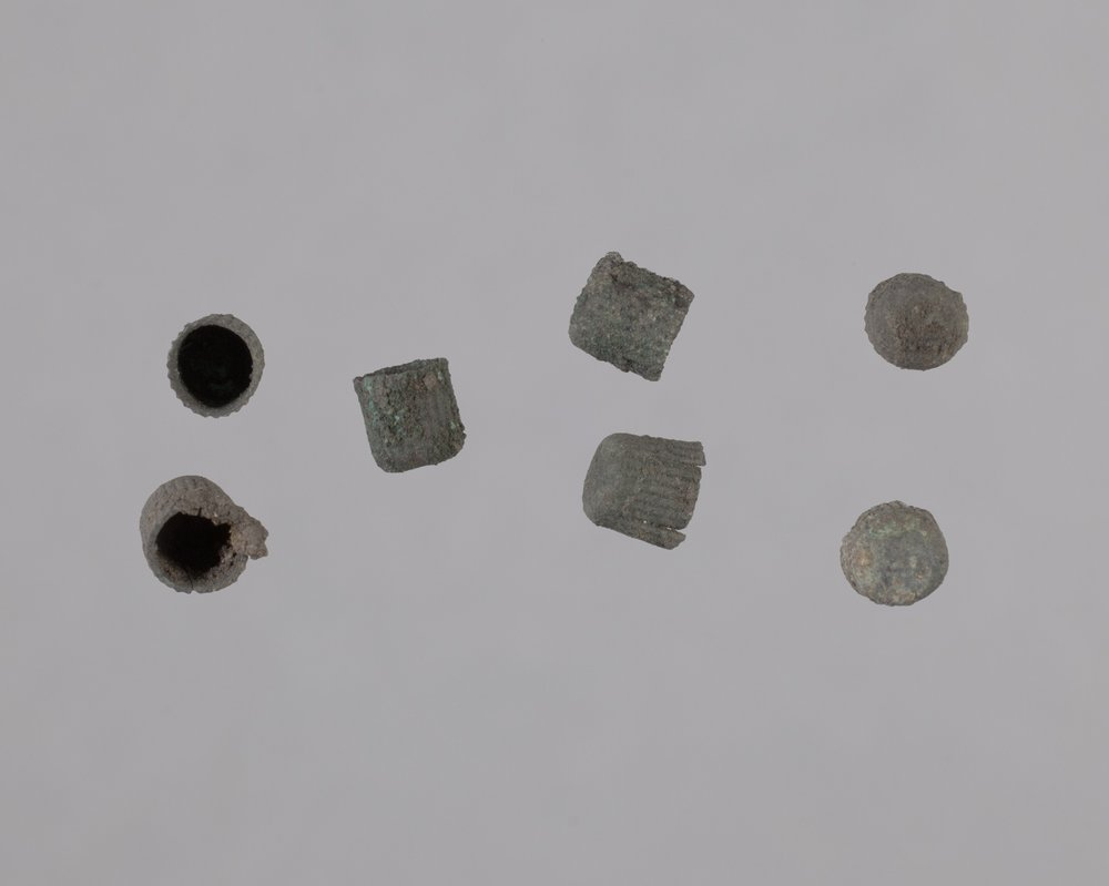Pistol Percussion Caps from Fort Zarah, 14BT301 - 1