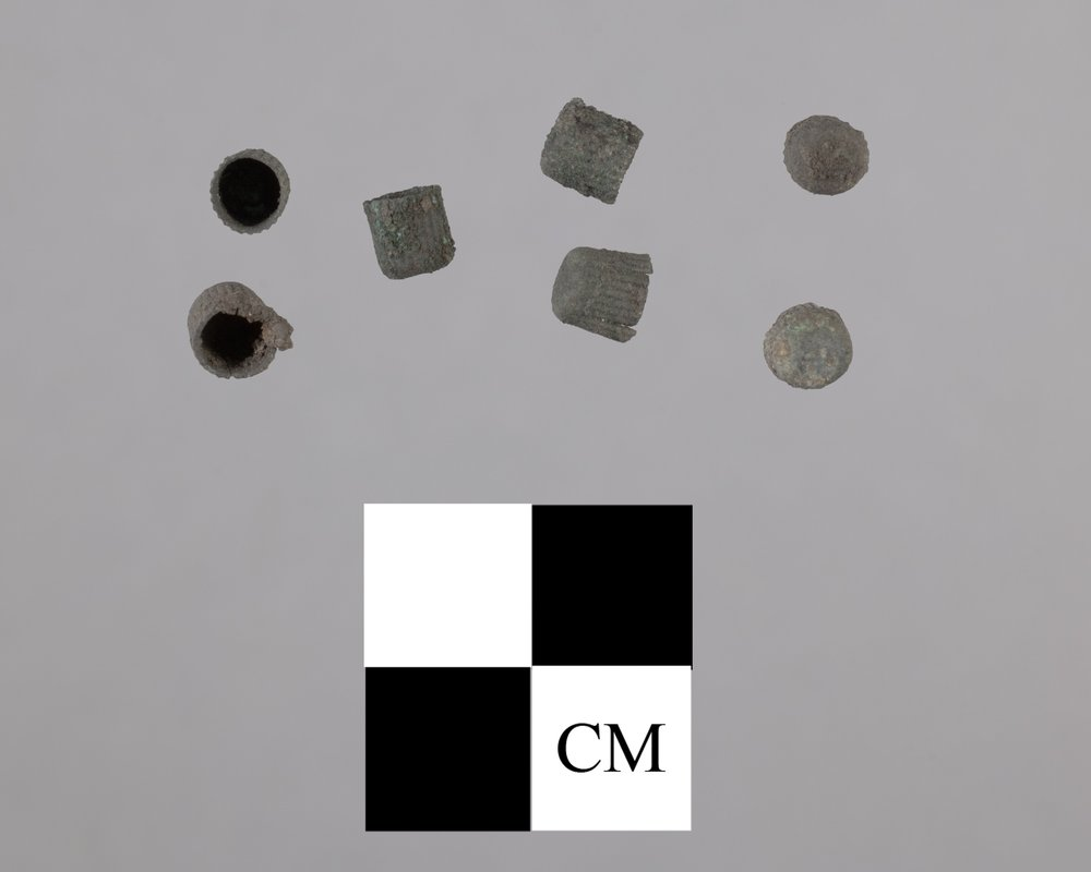 Pistol Percussion Caps from Fort Zarah, 14BT301 - 2
