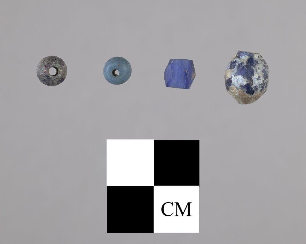 Glass Beads from the Tobias Site, 14RC8 - 2