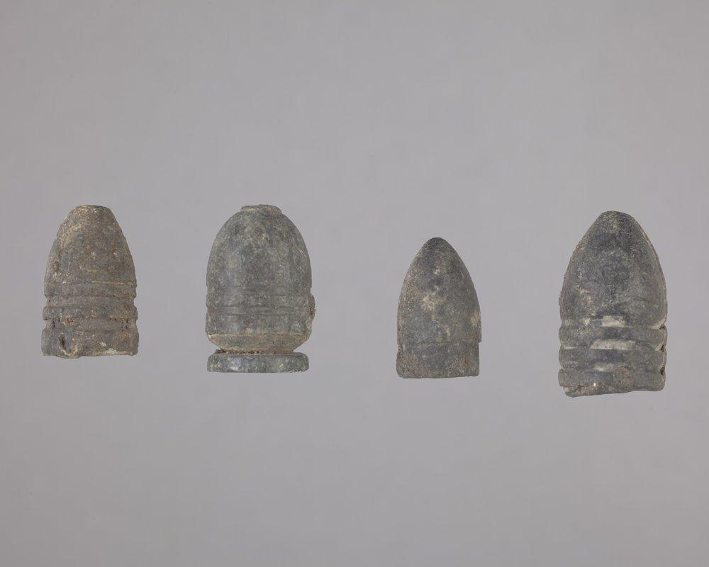 Minie Balls from Fort Zarah, 14BT301 - 1