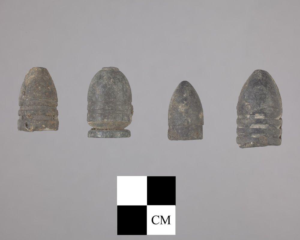 Minie Balls from Fort Zarah, 14BT301 - 2