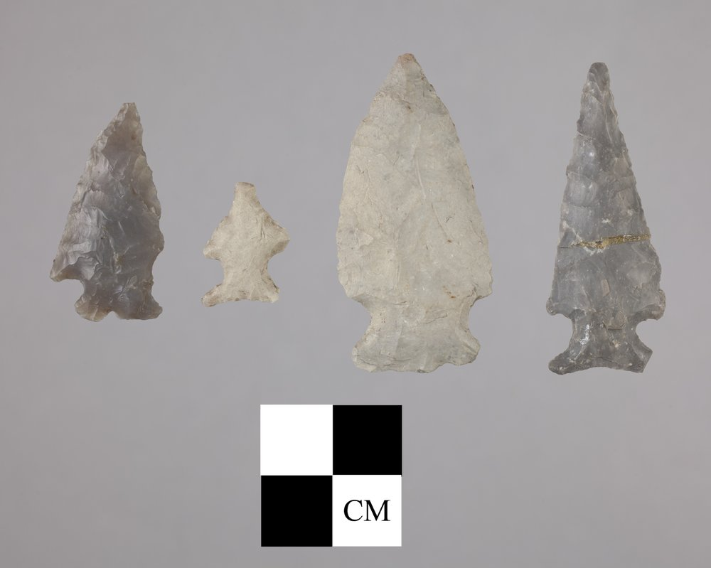 Arrow Points from the Miller Site, 14MP403 - 2