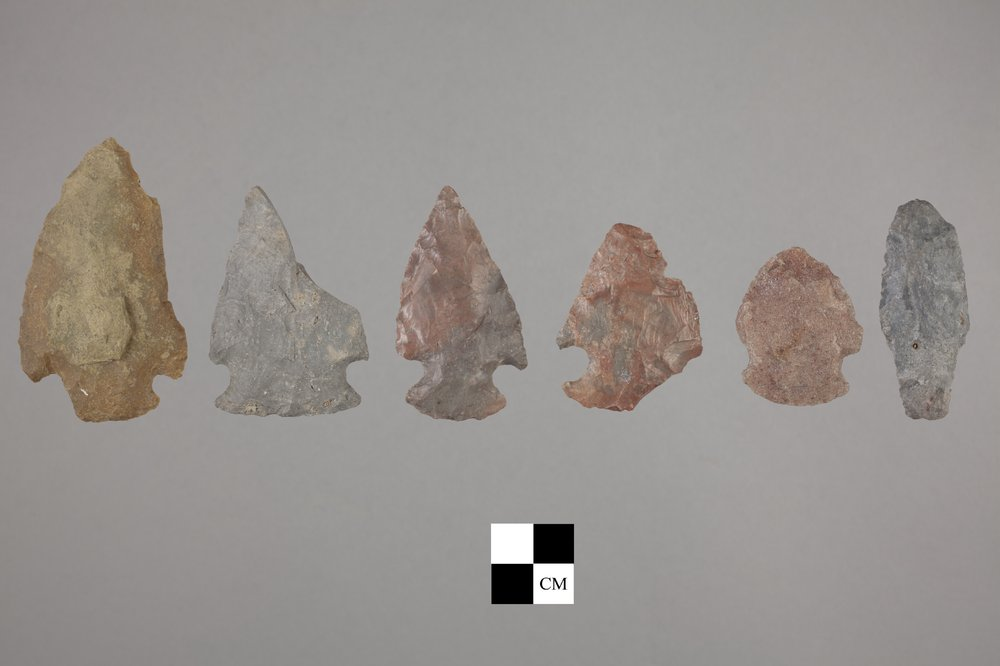 Dart Points from the Miller Site, 14MP403 - 2