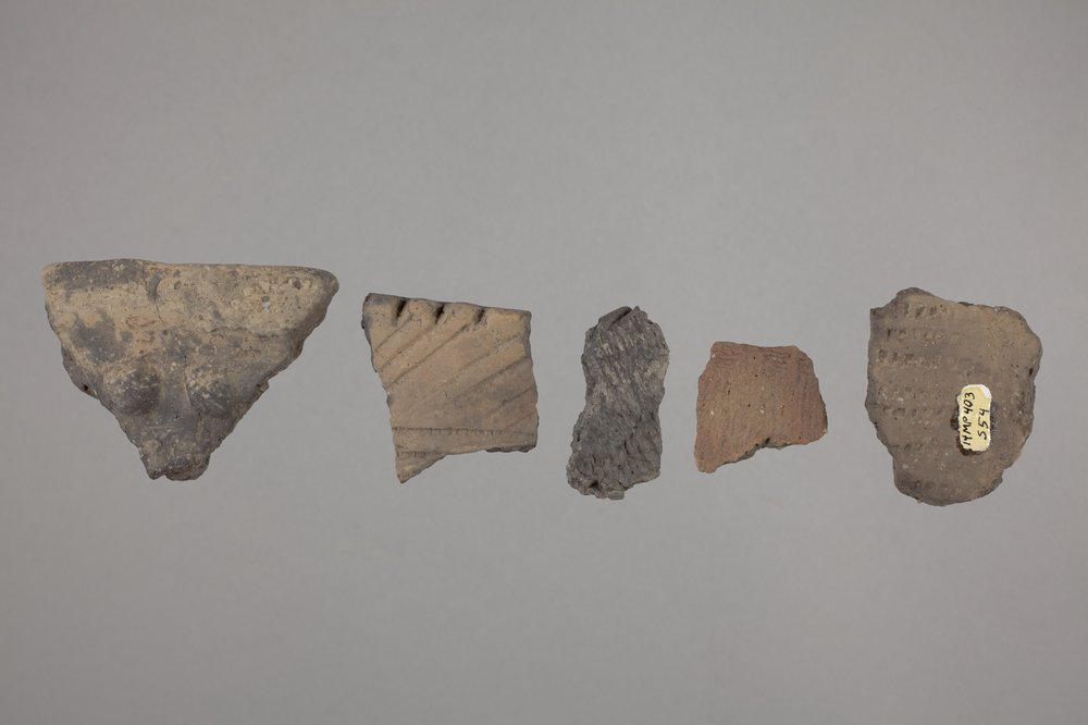 Pottery from the Miller Site, 14MP403 - 1