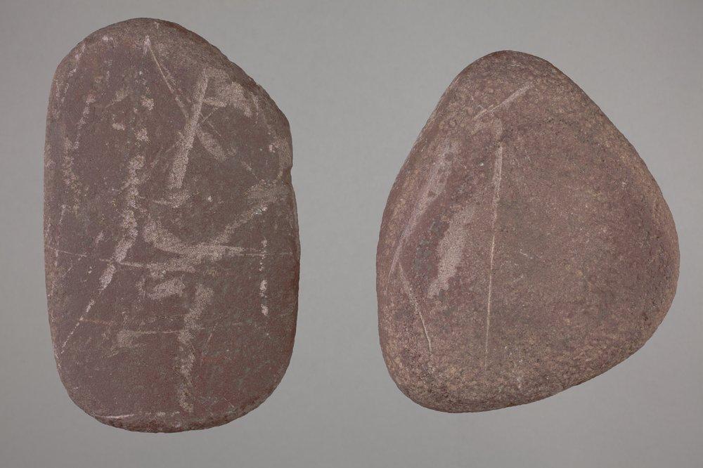 Manos from a Kansa Site, 14SH302 - 1