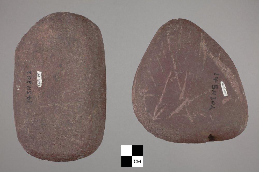 Manos from a Kansa Site, 14SH302 - 2