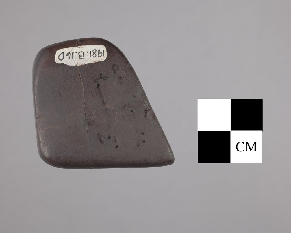 Hematite Artifact from the Fanning Site, 14DP1 - 2