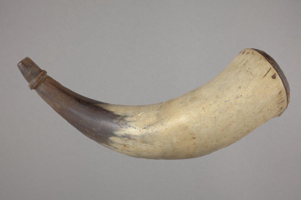 Osage Powder Horn - 1