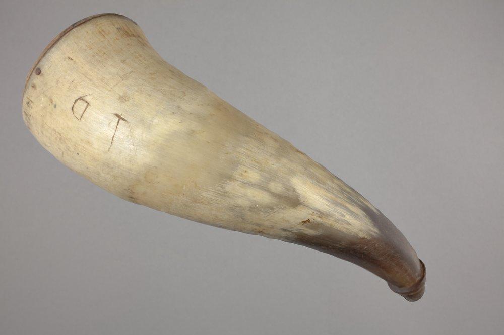 Osage Powder Horn - 4