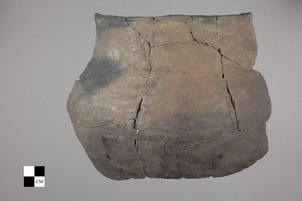 Ceramic Pot from the Tobias Site, 14RC8 - 2