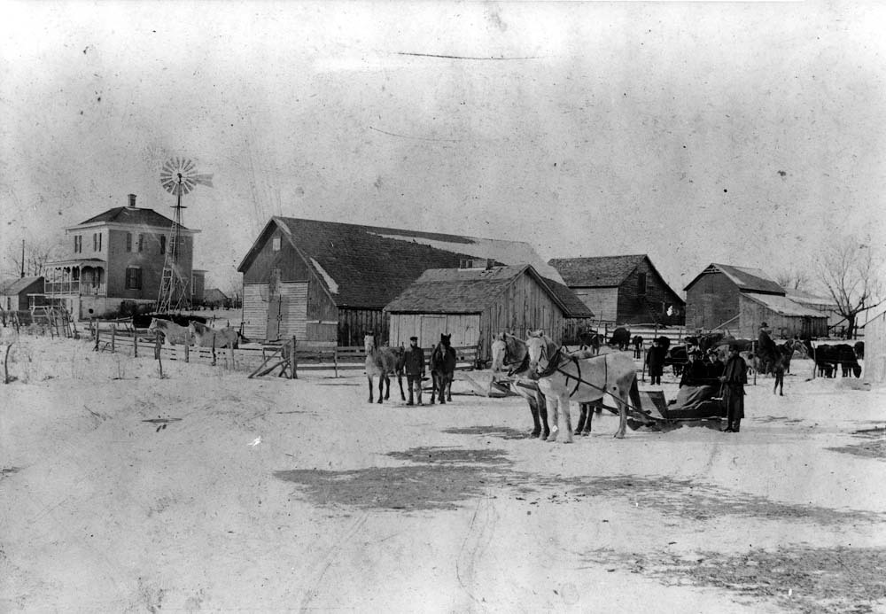 Abraham Eitzen farm, Marion County, Kansas