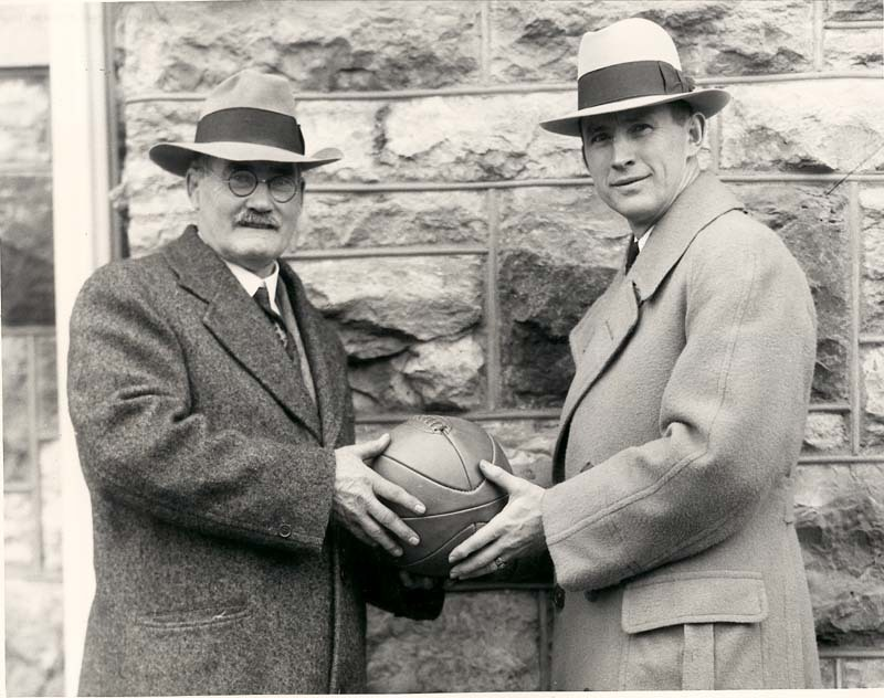 James Naismith and Forrest Claire (Phog) Allen