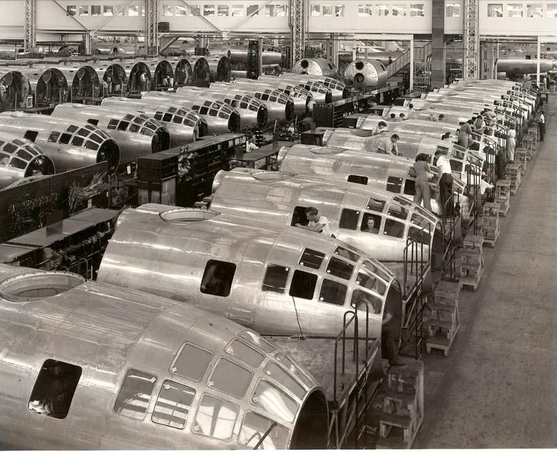 Boeing Airplane Company, Wichita, Kansas